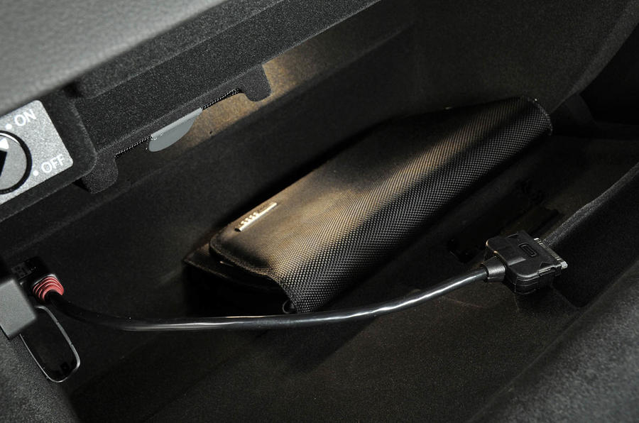 Audi A5 glovebox