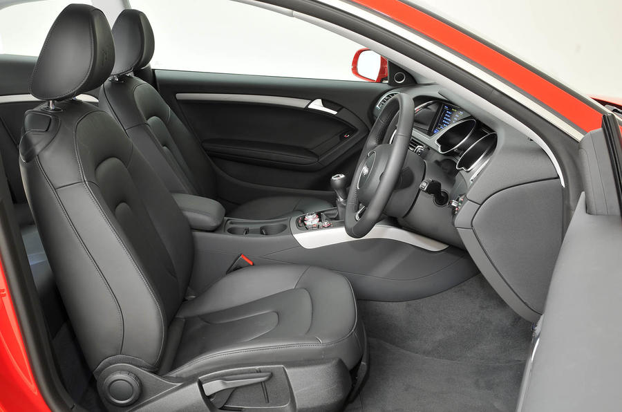 Superb ... Audi A5 Interior ...