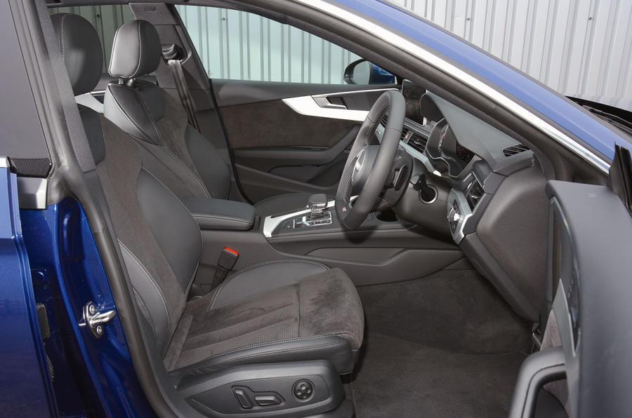 Charming ... Audi A5 Interior ...