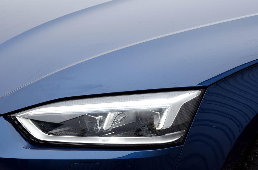 Audi A5 LED headlights