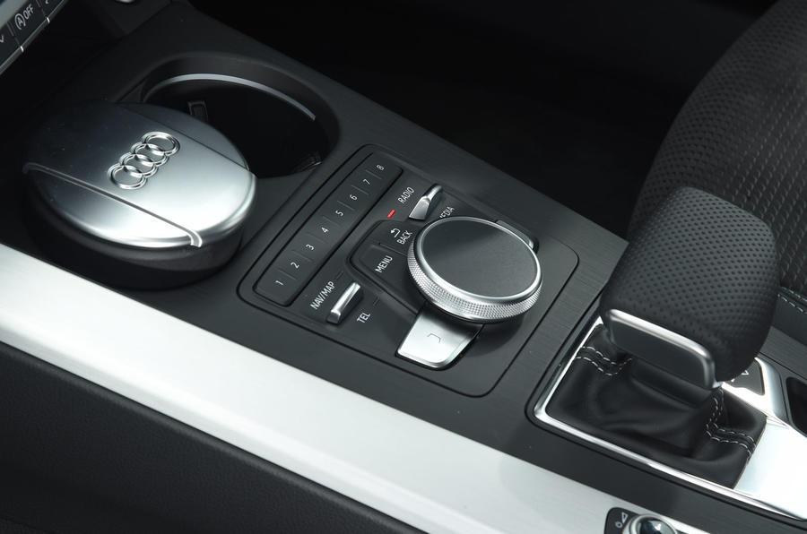 Audi A5 infotainment controller