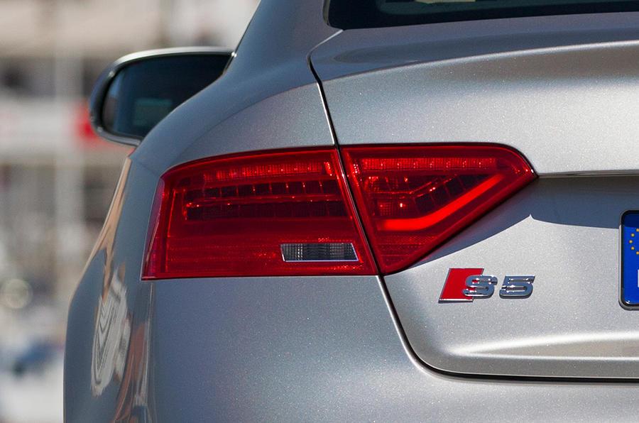 Audi A5 rear light