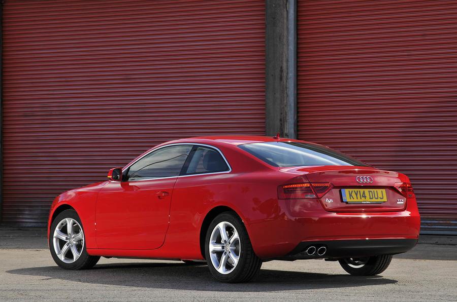 Audi A5 rear quarter