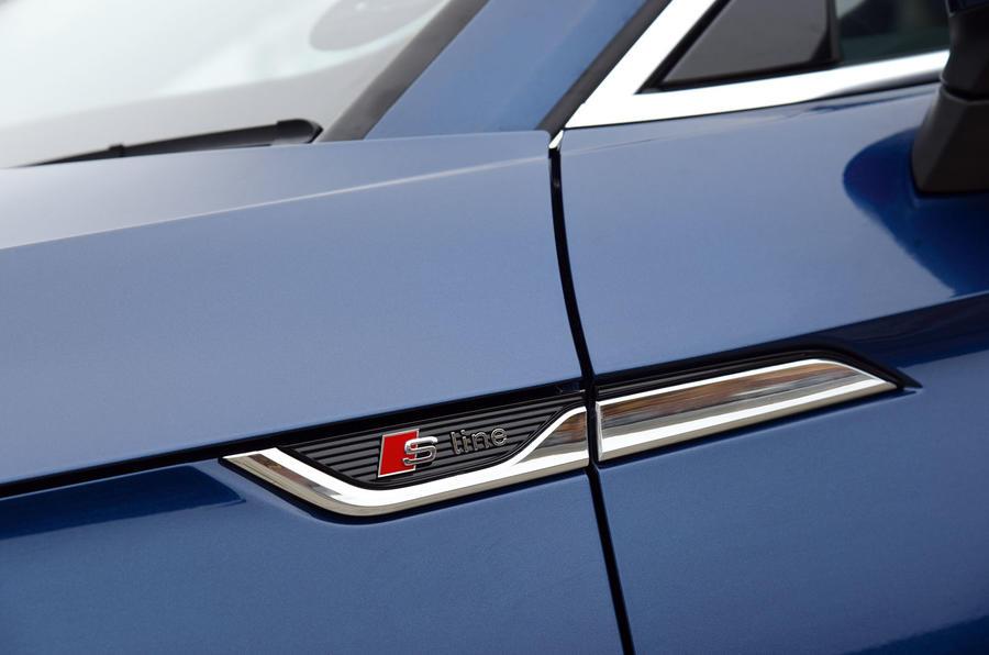 Audi A5 side scuttle