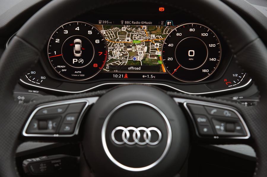 Audi A5 Virtual Cockpit