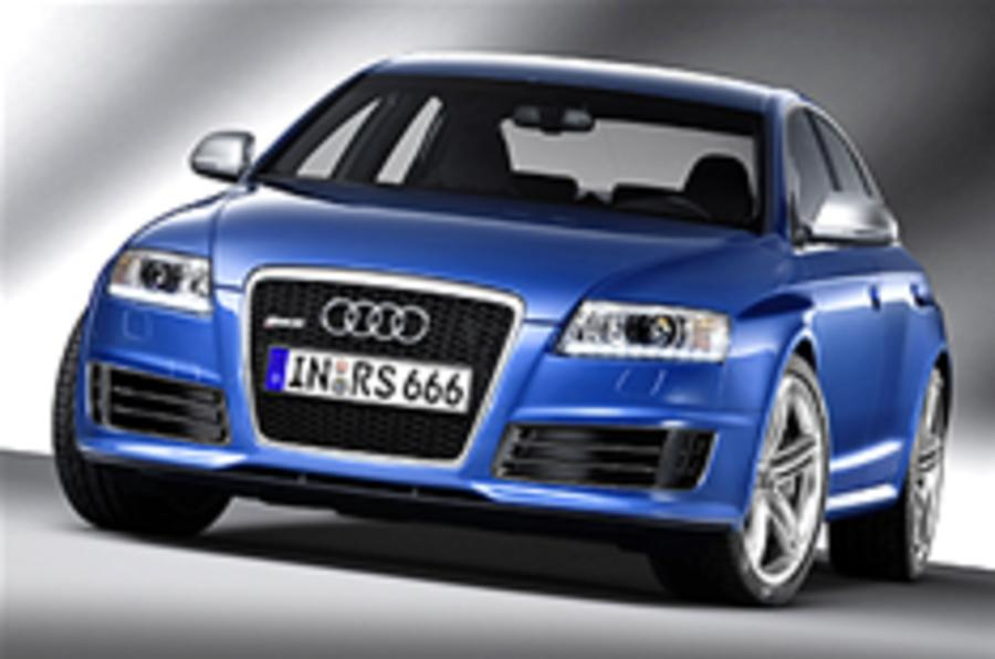 Revealed: Audi RS6 saloon