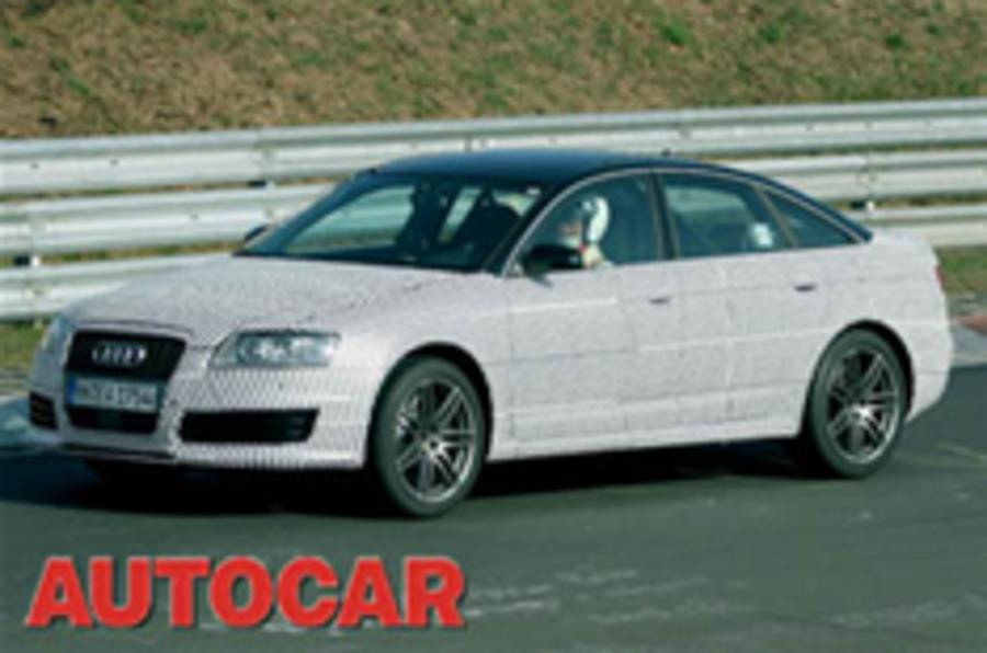 Spied: Audi's new 550bhp RS6