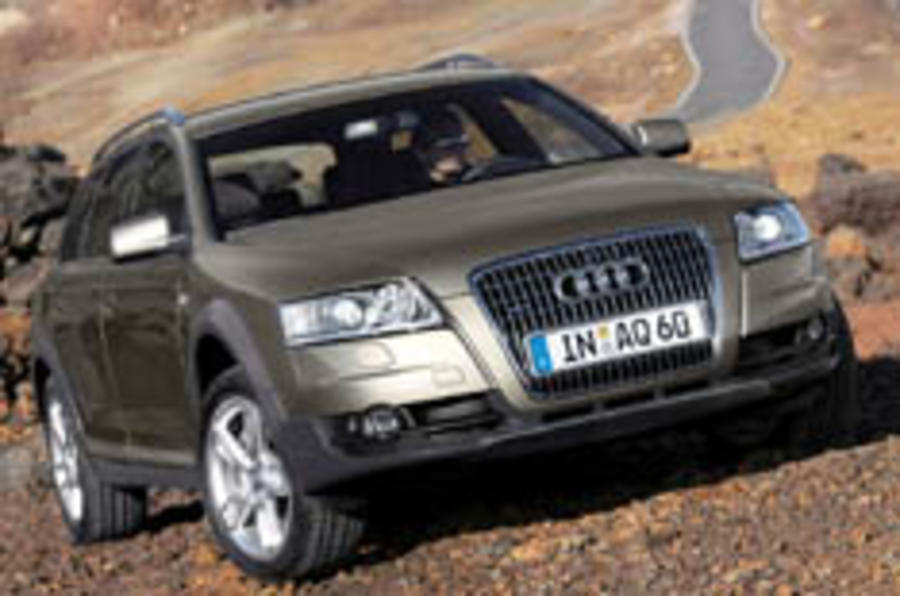 Latest Allroad jumps the Q