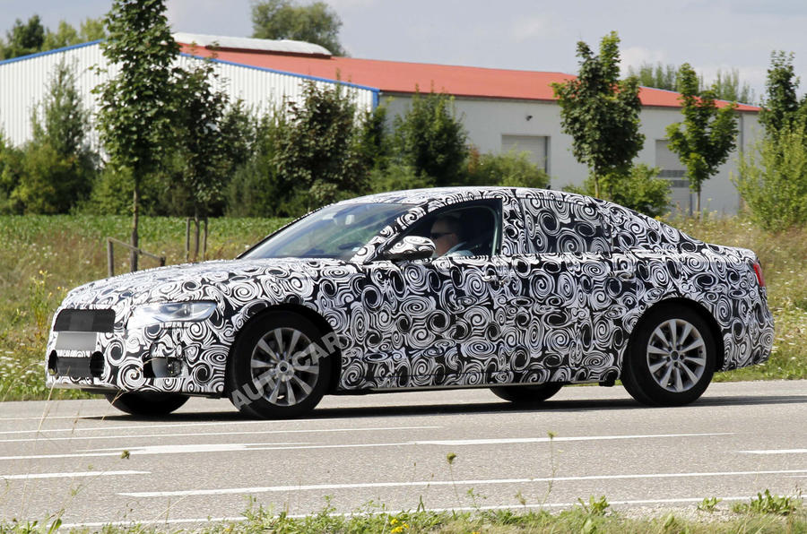 New Audi A6 uncovered