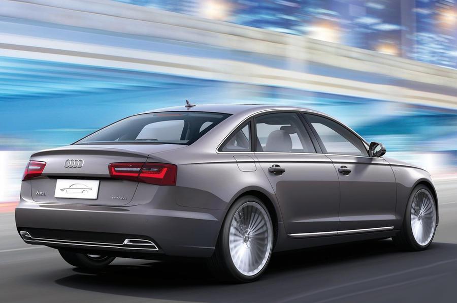 Beijing show: Audi A6 e-tron