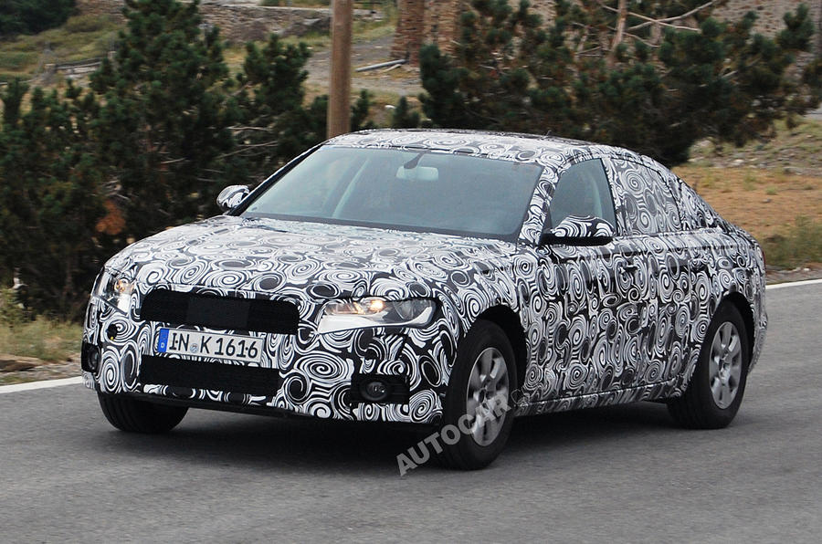 Next Audi A6 - new spy pics
