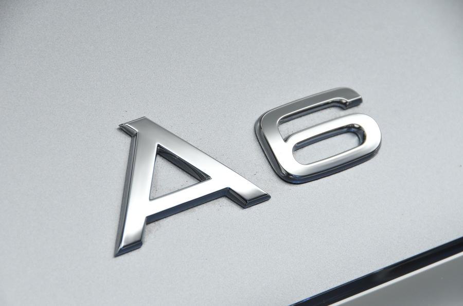 Audi A6 badging