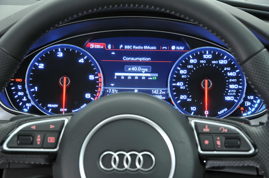 Audi A6 instrument cluster
