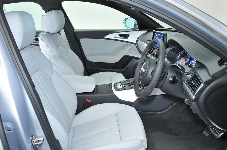 Audi A6 Ride Amp Handling Autocar