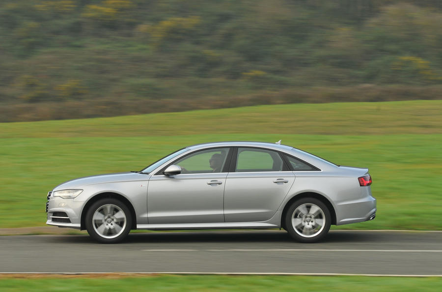 Audi A6 side profile