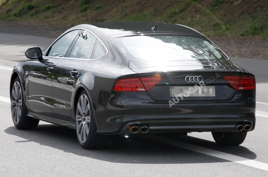 Audi S7 caught undisguised
