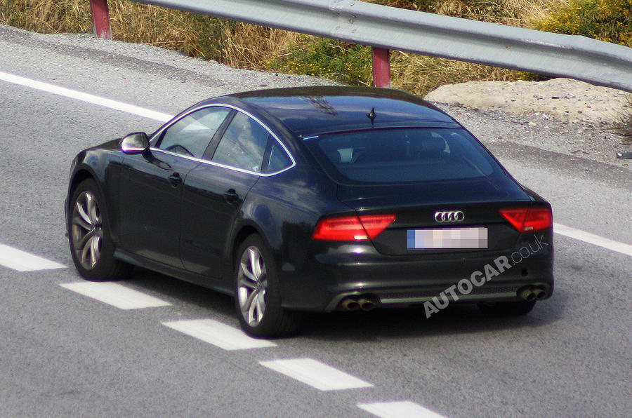 Audi S7 - first undisguised pics