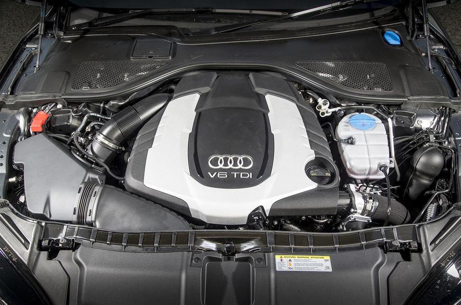 3.0-litre TDI Audi A7 engine