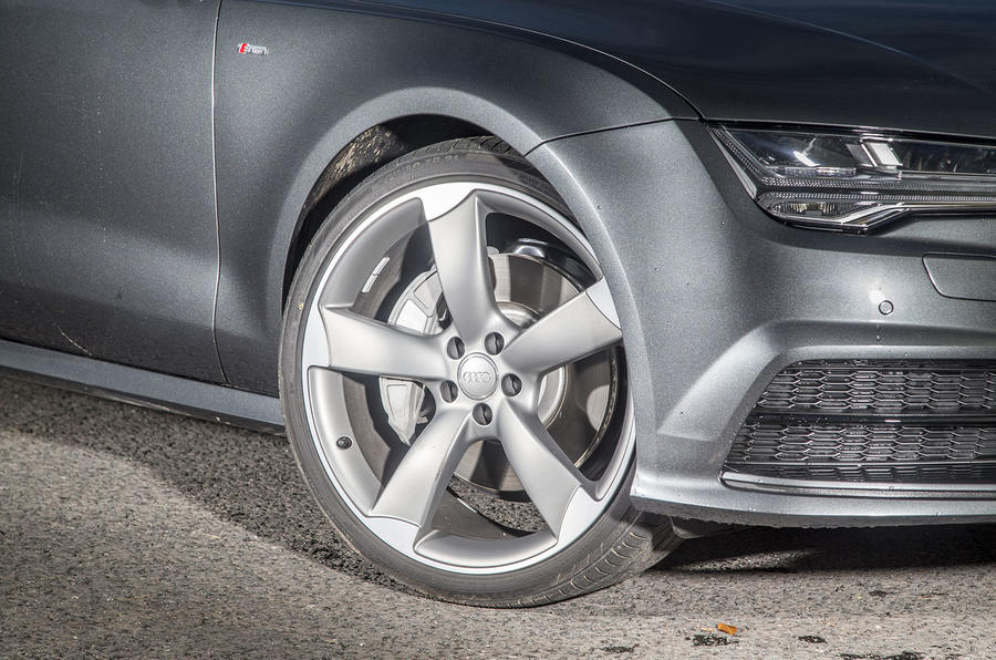 Audi A7 alloy wheels