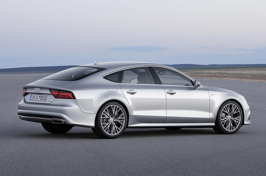 Facelifted Audi A7 Sportback revealed