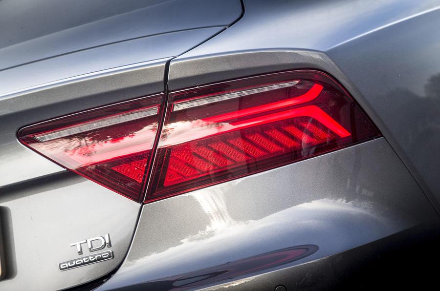 Audi A7 rear lights