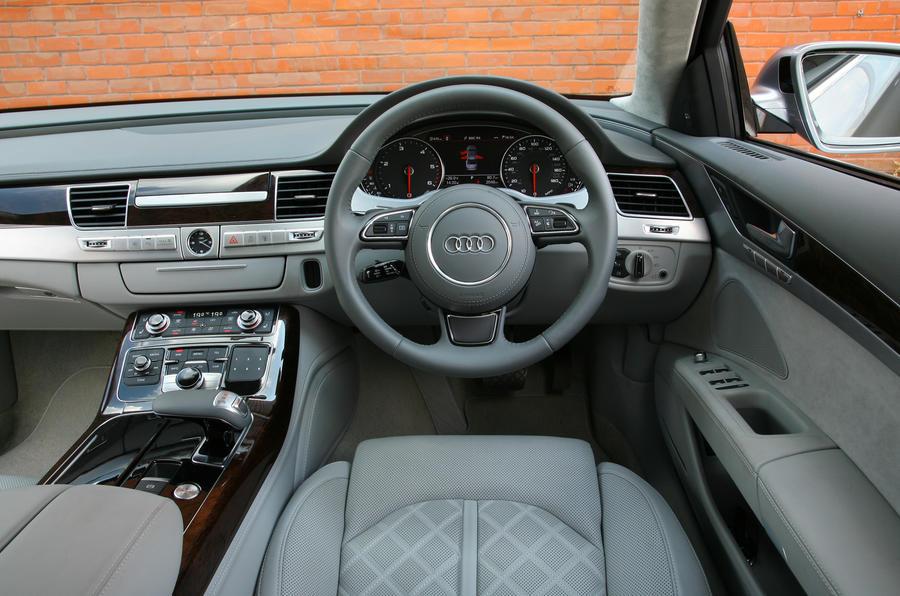 Audi A8 dashboard