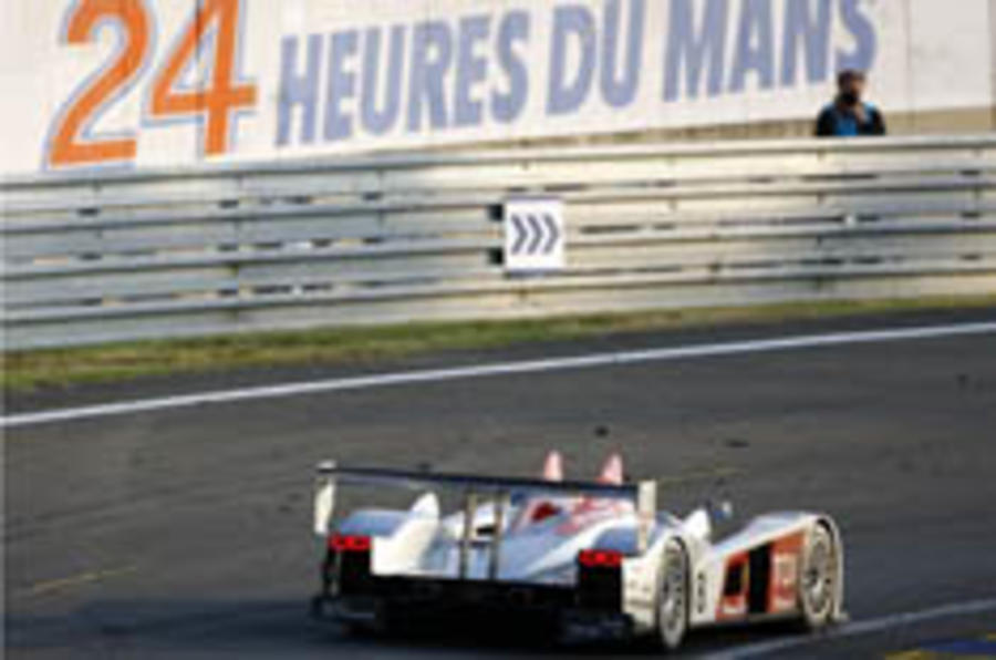 Audi diesel makes history at Le Mans