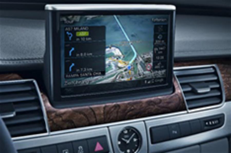 Audi A8 gets Google Earth