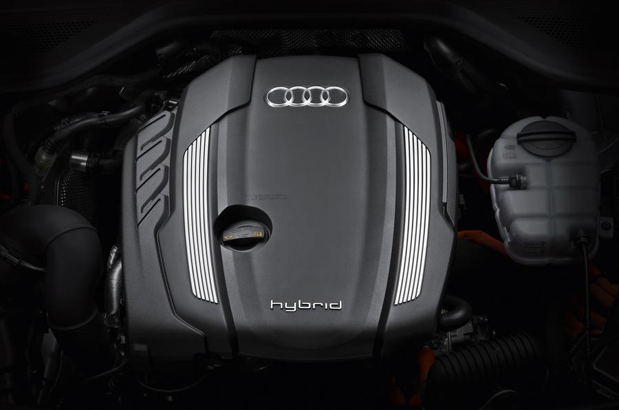 Frankfurt show: Audi A8 hybrid