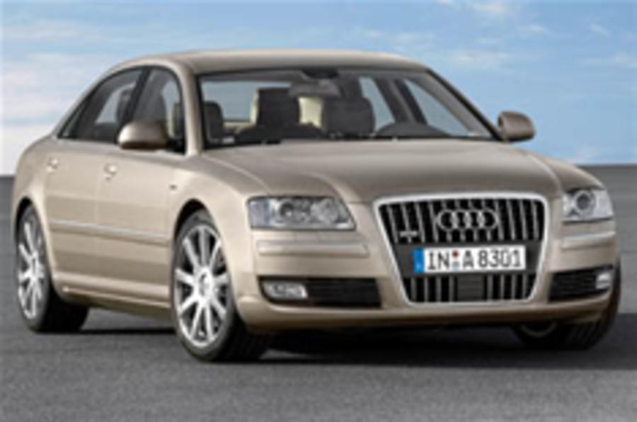 It's the new Audi A8 – honest