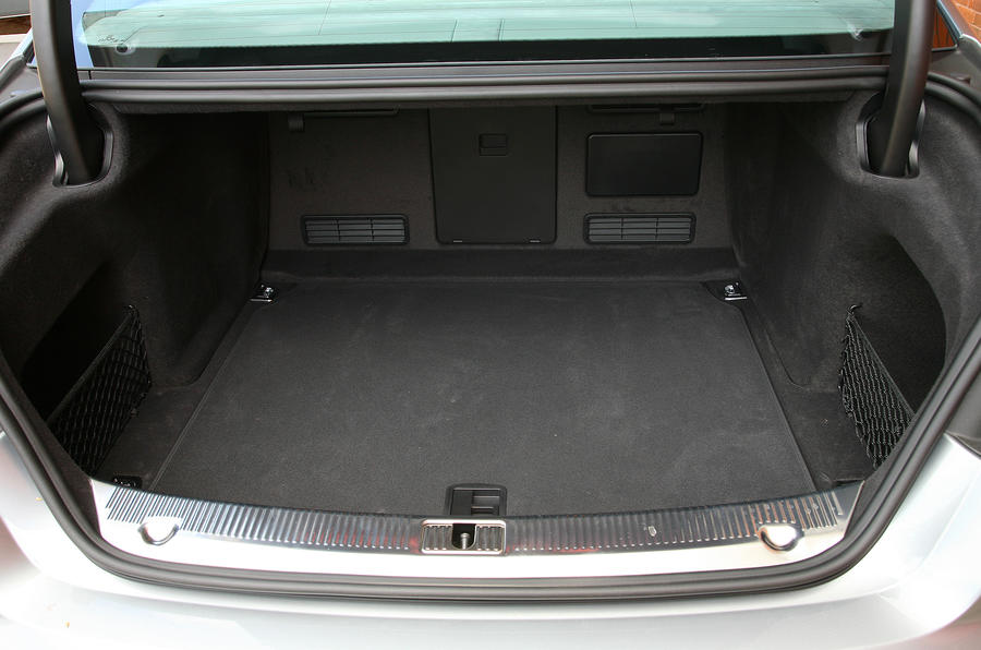 Audi A8 boot space