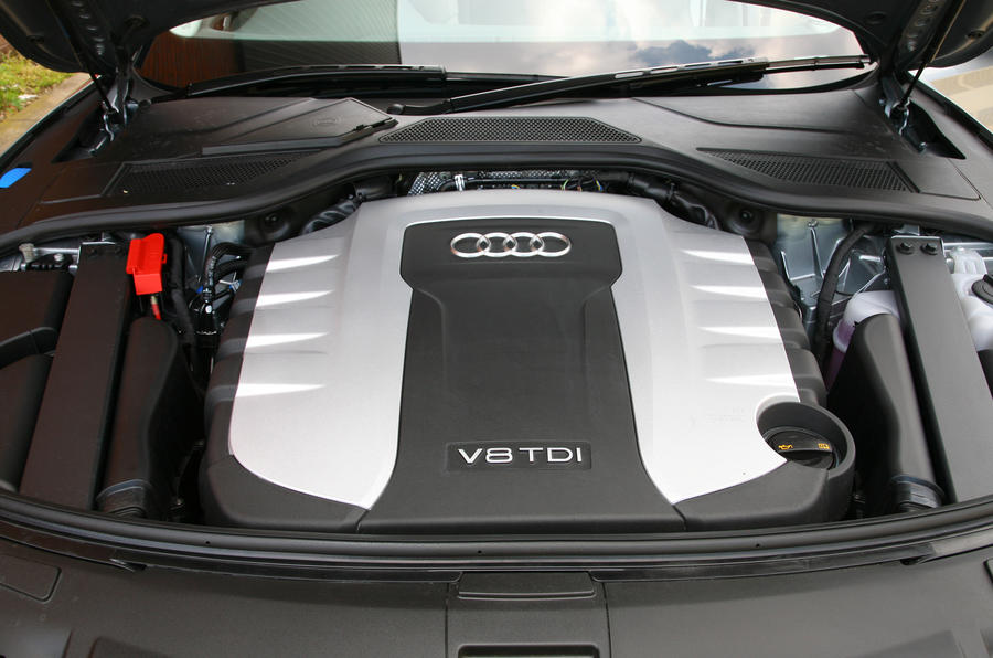4.2-litre V8 Audi A8 diesel engine