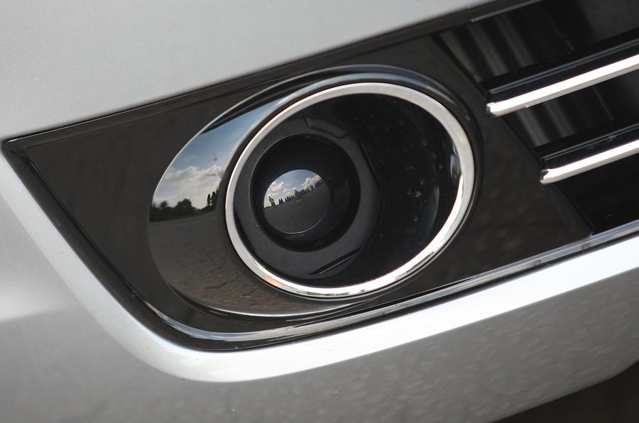 Audi A8 foglight