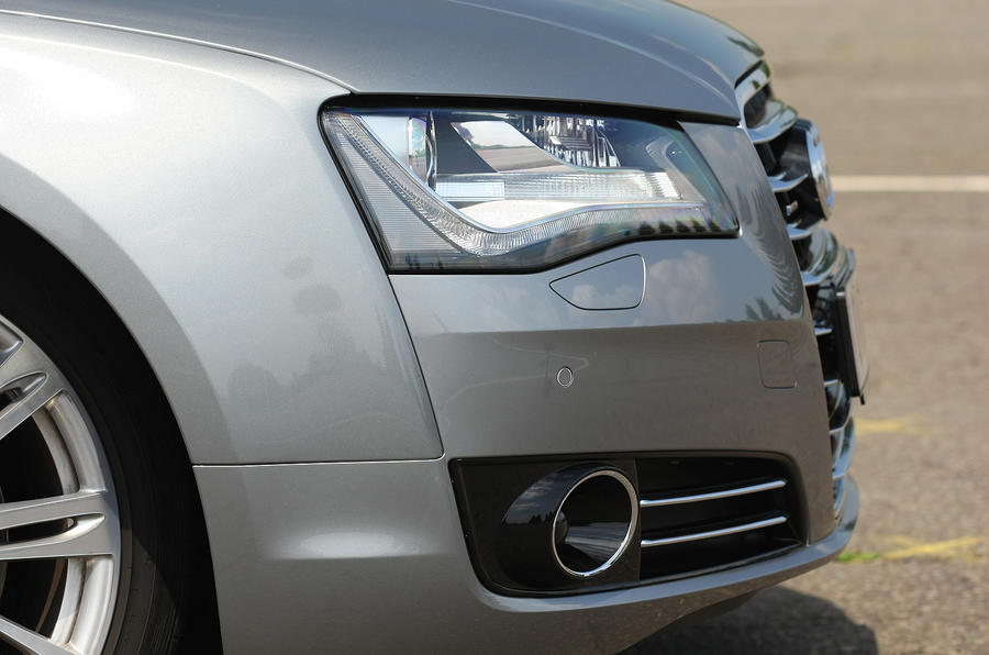 Audi A8 front end