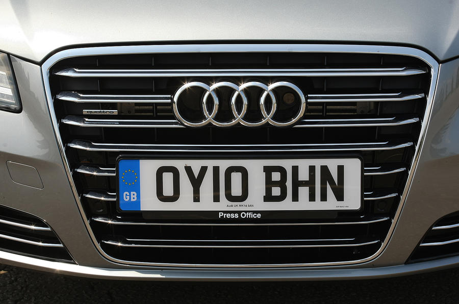 Audi A8 front grille