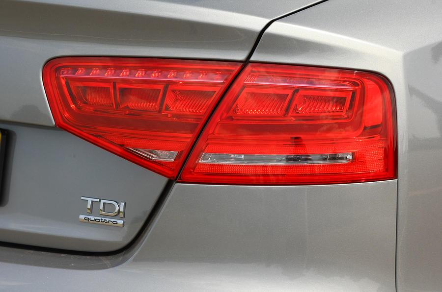 Audi A8 rear light