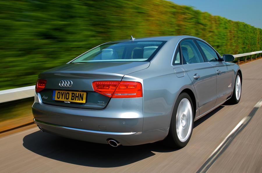 Audi A8 rear end