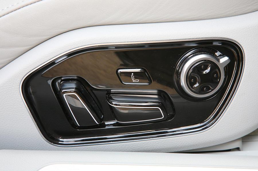 Audi A8 electrical seat adjustment