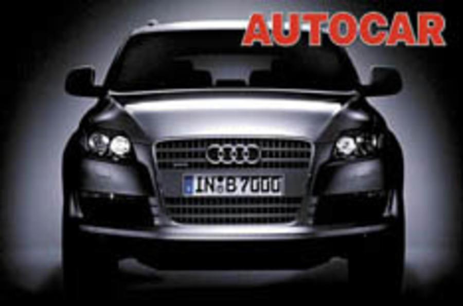 Audi's Q7 revealed