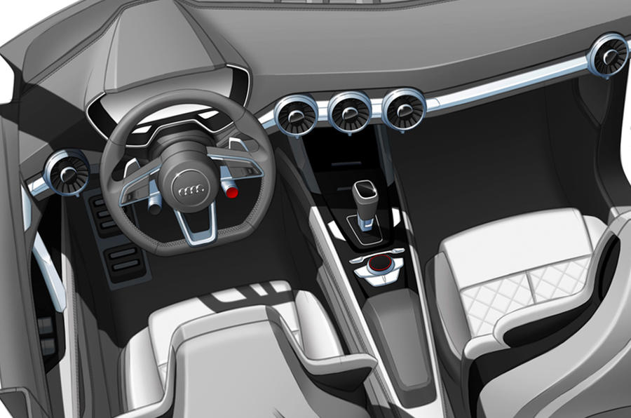 Audi Q4 concept sketches revealed