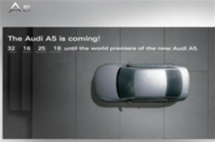 Audi launches A5 teaser site