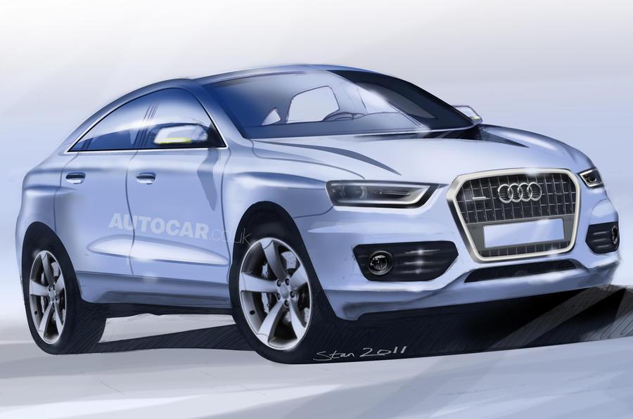 Audi Q4 guns for Evoque