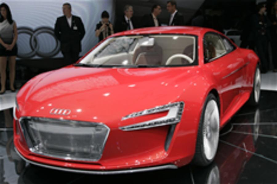 Audi e-tron on sale in 2012