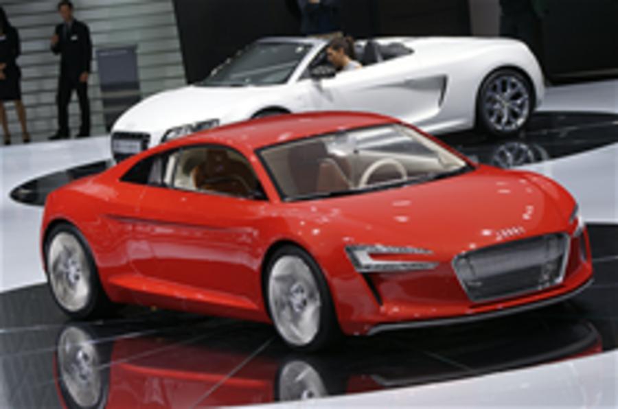 Audi e-tron latest pics