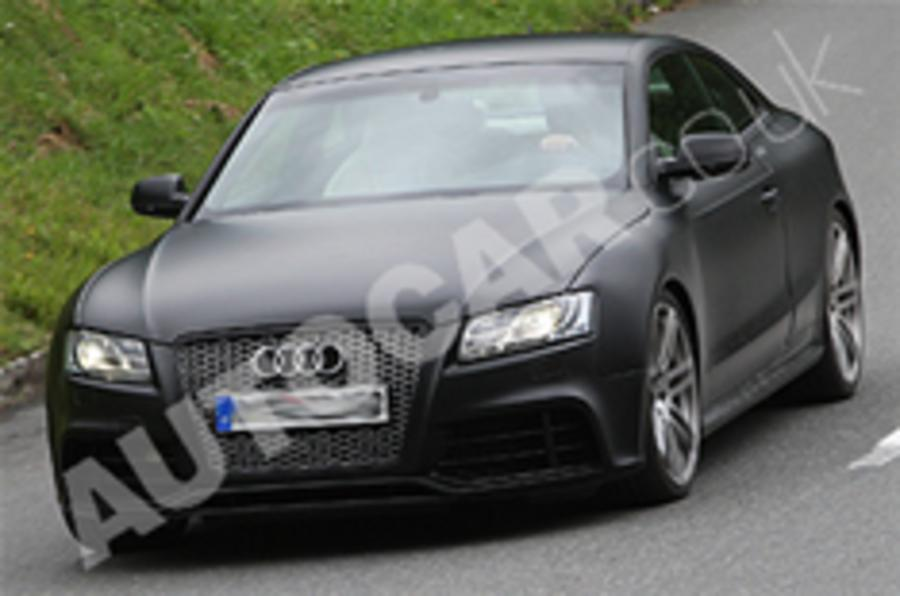 Audi RS5 spied