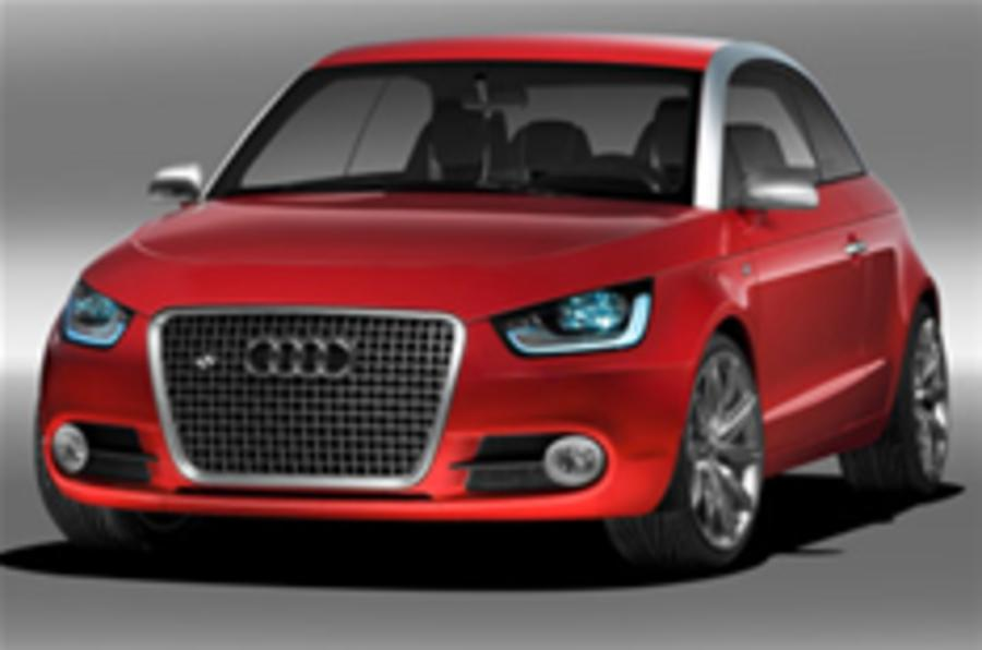 Audi A1 concept coming to UK
