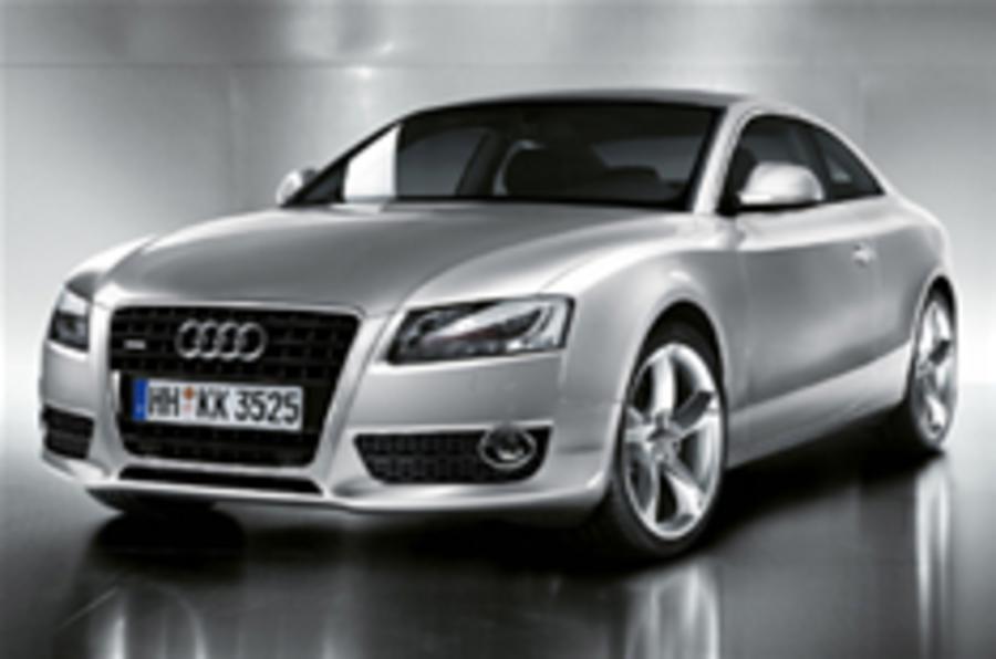 Audi A5 photos leaked