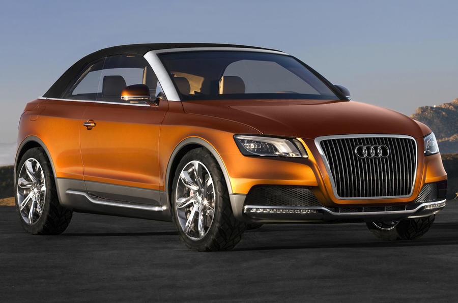 audi q2 and q6 suvs planned autocar. Black Bedroom Furniture Sets. Home Design Ideas