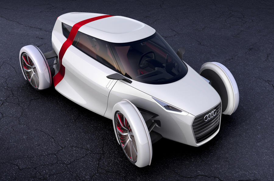 Audi's city car – new pictures