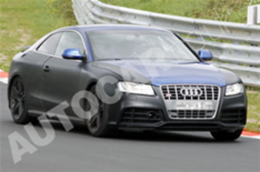 Audi RS5 spied testing